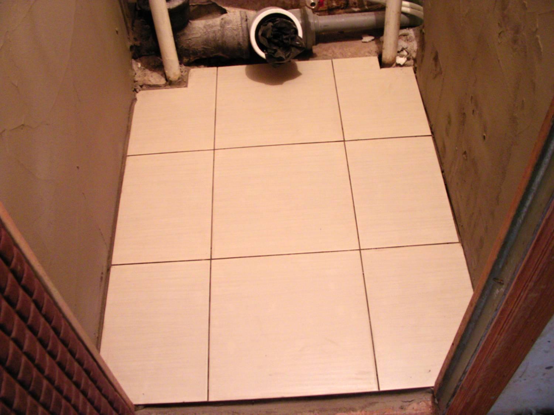 Теплый пол в туалете своими руками 56